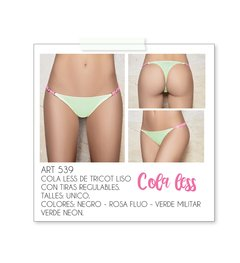 Cola less de tricot liso regulable Art. 539