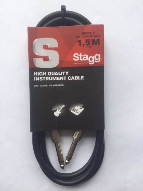Cable Stagg Plug 1,5m
