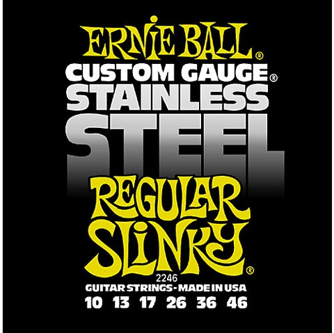 Encordado Ernie Ball Acero 10-46