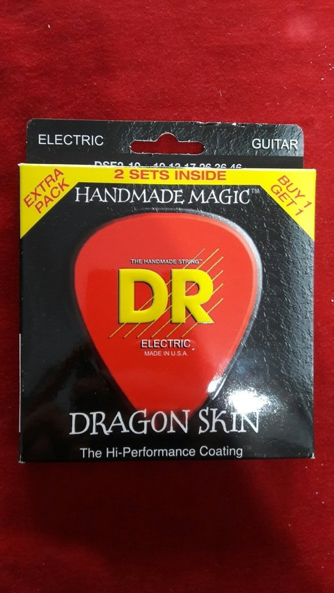 Encordado Dragon Skin 2 Set Electrica 010-46