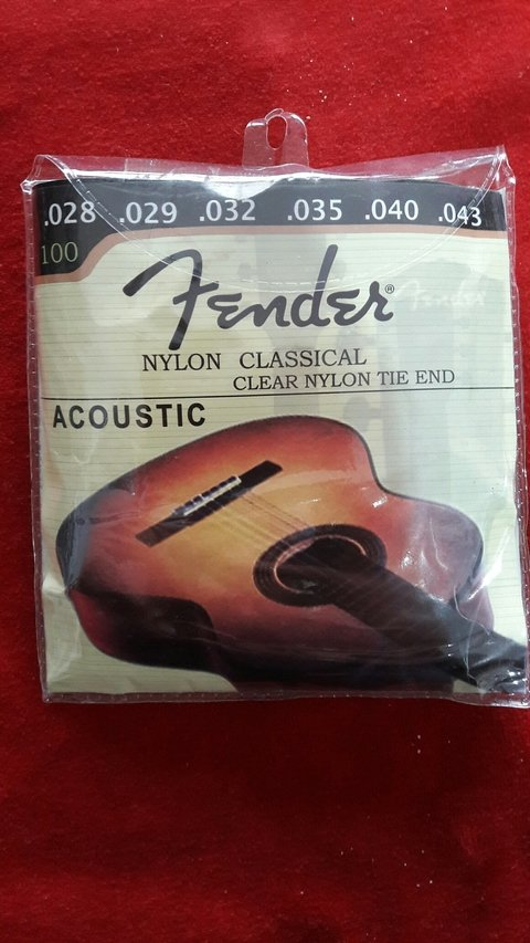 Encordado Fender Nylon 28-43