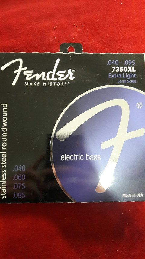 Encordado Fender Bajo 40-95