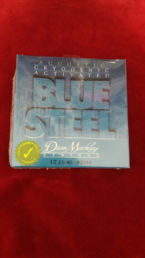 Encordado Blue Steel Dean Markley 11-46