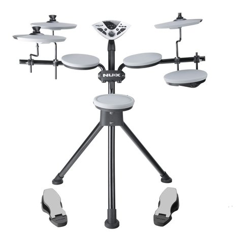 Bateria Electronica Nux Dm 1 5 Pads Usb Midi