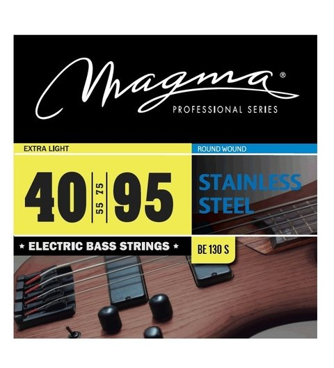 Encordado Bajo 40 95 Magma Stainless Steel Be130s Cuerdas