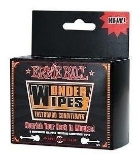 Limpiador Ernie Ball Wonder Wipes Fretboard Conditioner