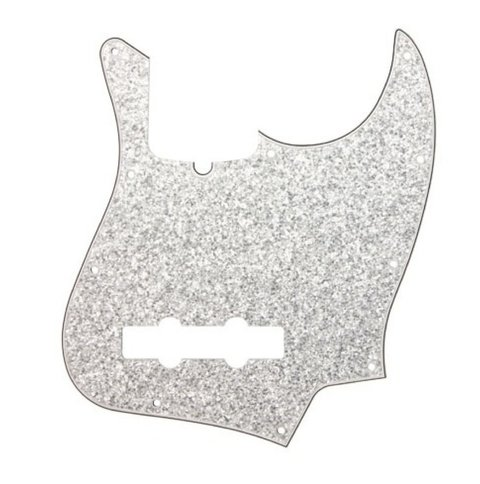 Pickguard Jazz Bass Dandrea Usa Silver Sparkle