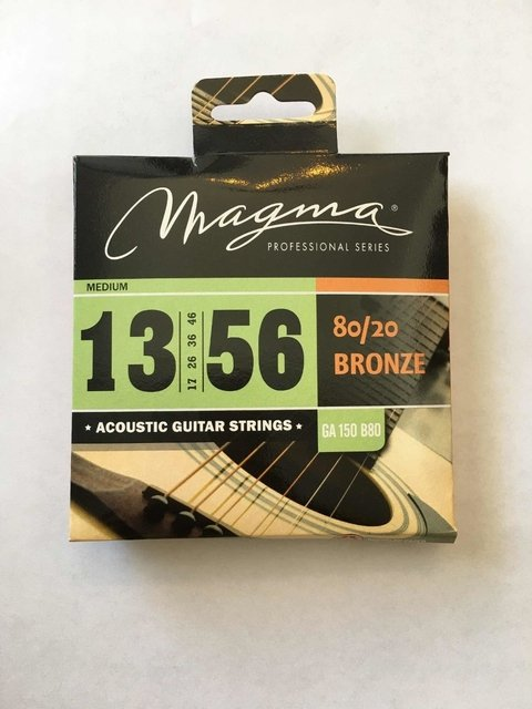 Encordado Guitarra Acustica 13 56 Magma 80/20 Bronze