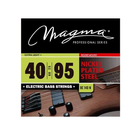 Encordado Bajo 40 95 Magma Nickel Plated Steel Be140n Cuerda