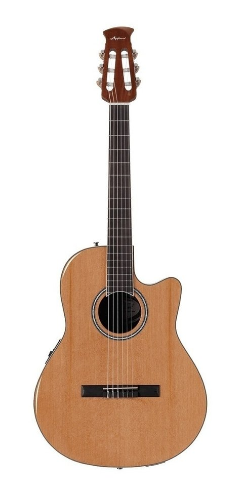 Guitarra Clasica Ovation Applause Nylon Ab24ciip-ced Cuotas
