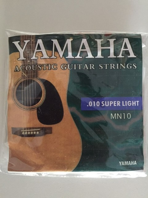 Encordado Yamaha 0.10-0.47
