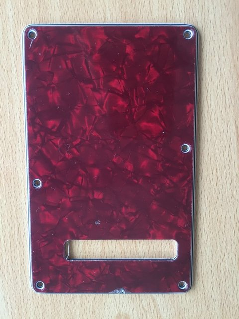 Backplate Stratocaster Rectangular