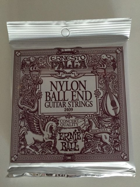 Encordado Ernie Ball Nylon Ball End