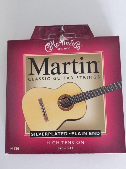 Encordado Martin Silverplated HT .028.043