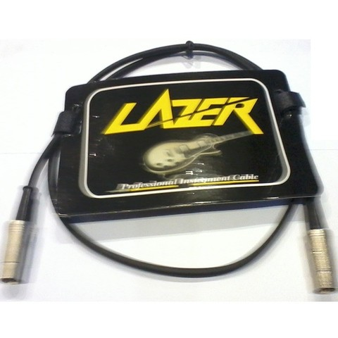 Cable Lazer Midi-midi Metal 1mts