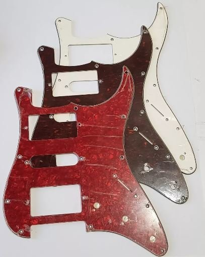 Pickguard Stratocaster Hsh Guitarra Luthier