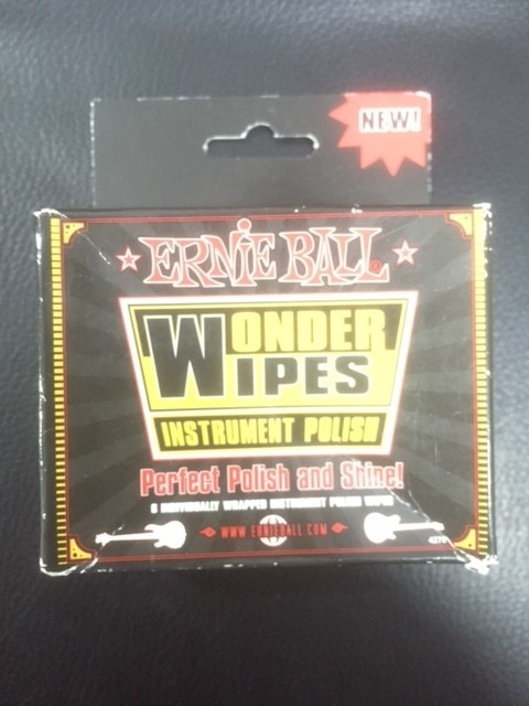 Limpiador Ernie Ball Wonder Wipes Polish x6