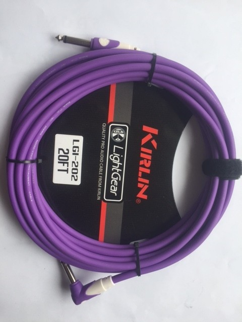 Cable Kirlin LGI-202 6 Mts Plug Angular