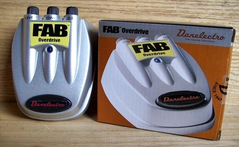 Pedal Danelectro Fab D-2 Overdrive