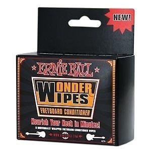 Ernie Ball Wonder Wipes Fretboard Conditioner
