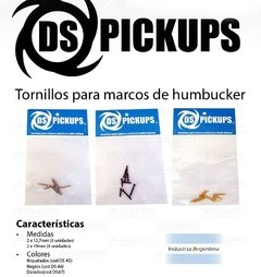 Tornillos Ds Pickups Set Humbucker-Marcos