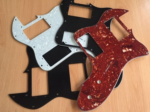 Pickguard Telecaster Thinline 72