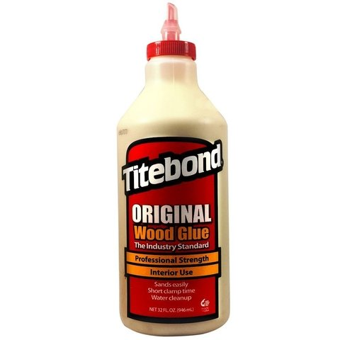 Titebond Original Pegamento Luthier 1/4 Galon // 946ml Wood Glue