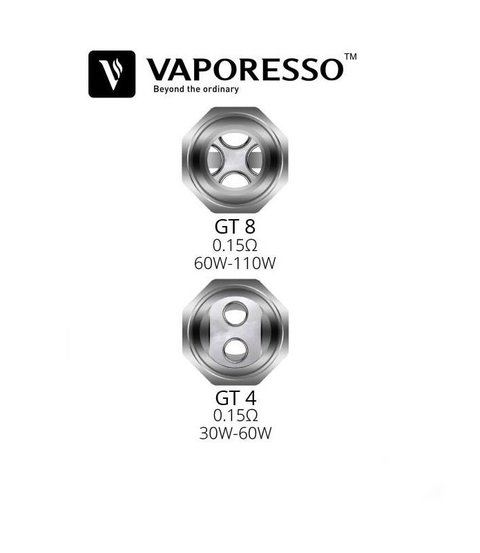 Vaporesso GT Replacement Coils GT4 0,15ohs