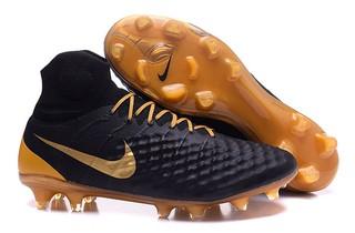 9c1a378cf2 Nike Magista Orden Campo - Preto com Dourado