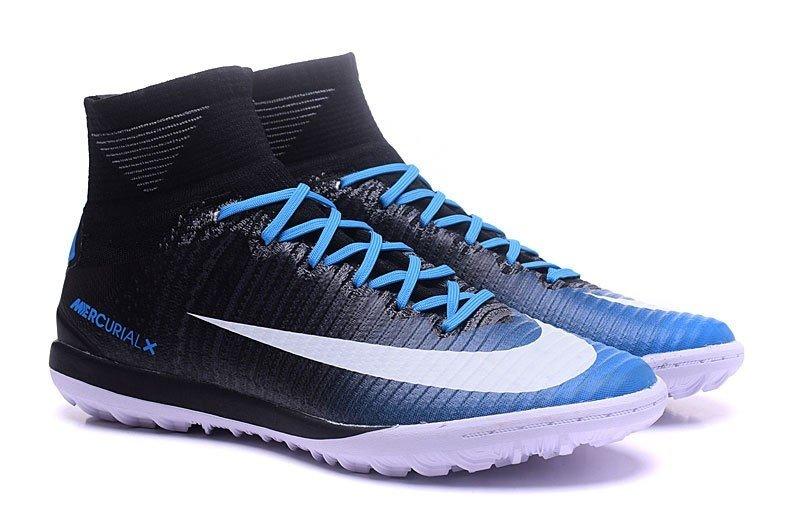 aca46f7abd Nike MercurialX Proximo II TF Society - Preto com Azul