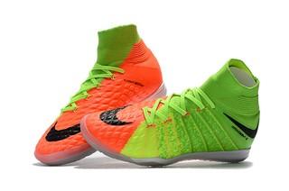 6566bf8791 Nike HypervenomX Proximo IC Futsal - Laranja e Verde