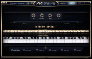 Addictive Keys Modern Upright na internet