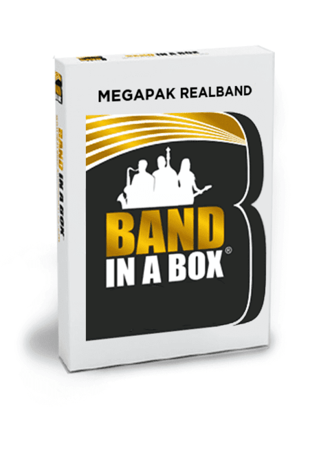 Band in a Box MegaPak com RealBand 2019 para Mac