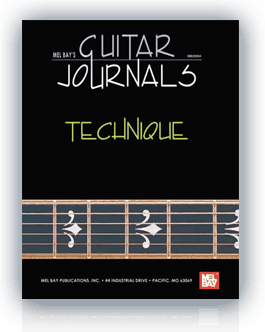 Ebook: Guitar Journals - Technique