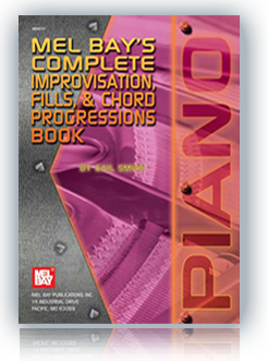 Ebook: Mel Bay's Complete Book of Improvisation, Fills & Chord Progressions