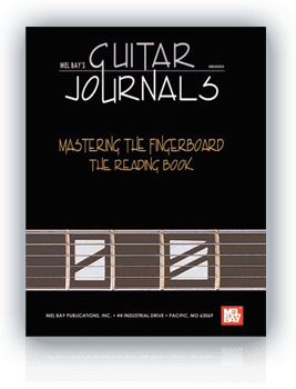 Ebook: Guitar Journals - Mastering the fingerboard: The reading book