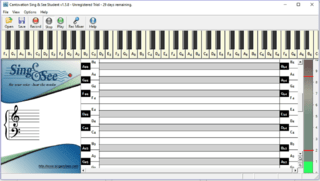 Sing & See Estudante - Daccord Music Software