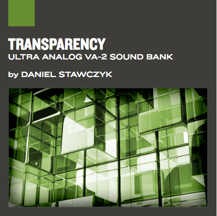 Banco de sons Transparency