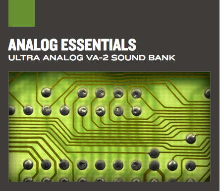 Banco de sons Analog Essentials
