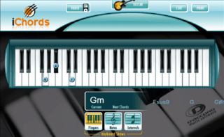 iChords 2.0 - Daccord Music Software