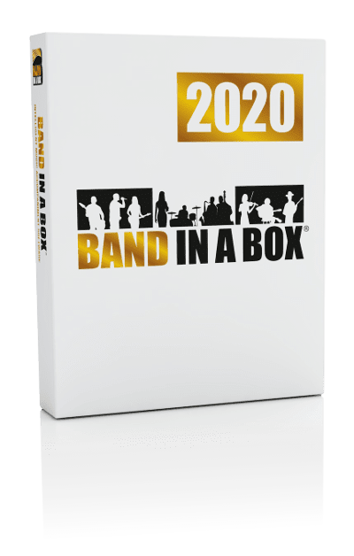 Band in a Box Upgrade 2020 para Mac