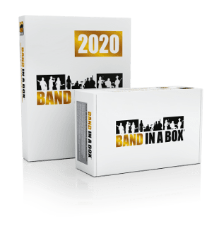 Band in a Box 2020 - Upgrade para Mac (versões mais antigas)
