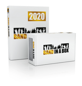 Band in a Box 2020 - Upgrade para Windows (versões mais antigas)