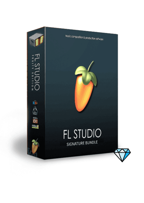 FL Studio Signature Bundle 20 com caixa