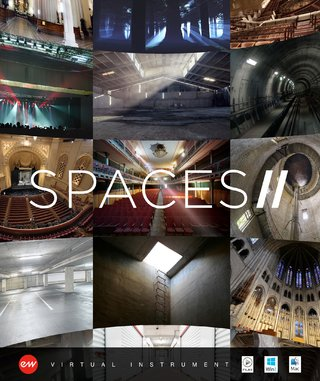 Spaces II Convolution Reverb