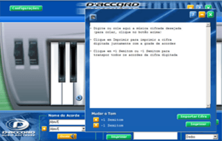 Teclado Player - Daccord Music Software