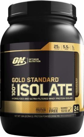 100% Whey Gold ISOLATE (1,6 Lbs) - Optimum