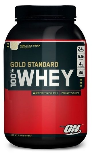 100% Whey Gold Standard (2 Lbs) - Optimum Nutrition