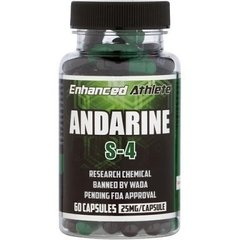 Andarine S 4 25mg (60 caps) - Enhanced Athlete