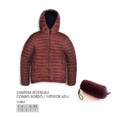 Campera reversible tipo Uniqlo (Talles: S M L y XL)